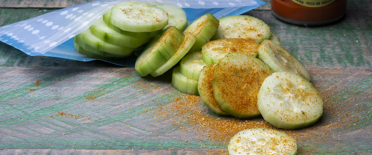 Seasoned Cucumber