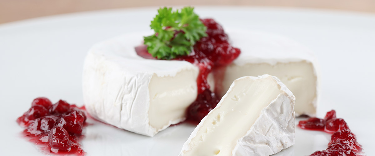 Cranberries North of the Border with Brie Cheese
